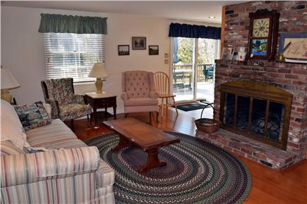 Brewster Cape Cod vacation rental - Cozy living room