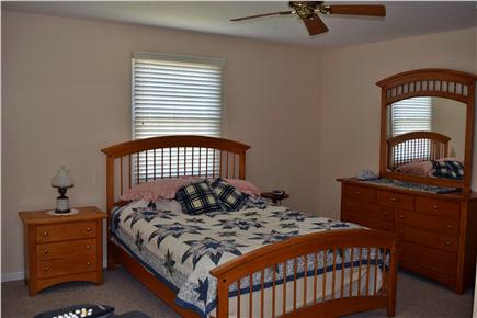Brewster Cape Cod vacation rental - Spacious upstairs bedroom with walk-in closet