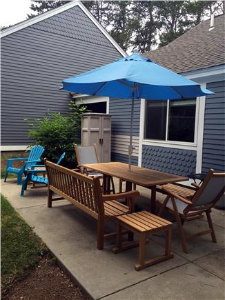 Brewster Cape Cod vacation rental - Enjoy expanded patio and yard