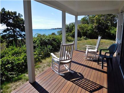 Hyannis Cape Cod vacation rental - A place for morning coffee and a cooling afternoon refresher