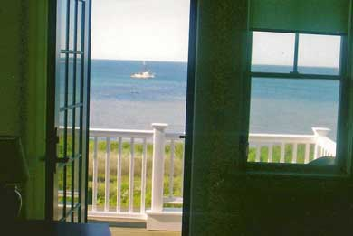 Hyannis Cape Cod vacation rental - A peaceful sun drenched balcony