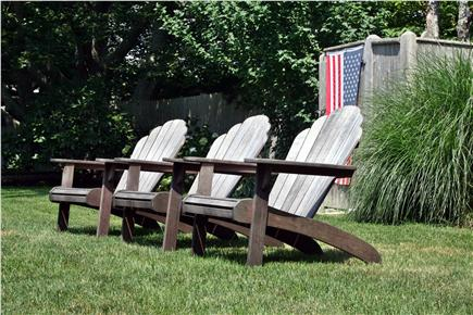 Falmouth Cape Cod vacation rental - Backyard