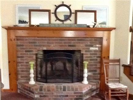 Falmouth Cape Cod vacation rental - Beautiful Fireplace