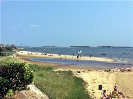 West Yarmouth Cape Cod vacation rental - Another shot of beach, with tidal pool.