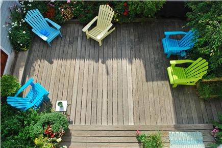 West End, Provincetown Cape Cod vacation rental - Shared garden area with grill
