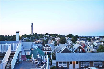 West End, Provincetown Cape Cod vacation rental - Beautiful harbor view from the upper deck