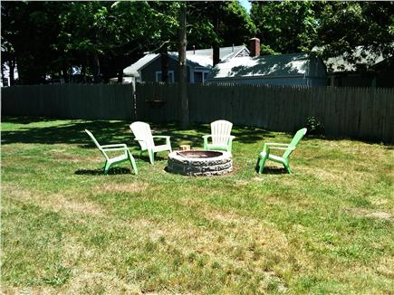 West Yarmouth Cape Cod vacation rental - Relax next to the outdoor fireplace