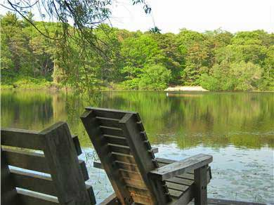 Eastham Cape Cod vacation rental - Relax after a day at the beach on your private pier!