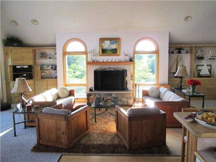 Truro Cape Cod vacation rental - Great Room - View from Dining Room to Living Room