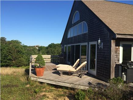 Truro Cape Cod vacation rental - One of the decks off the Great Room