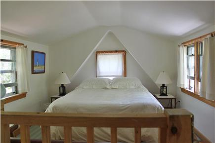 Wellfleet  Cape Cod vacation rental - Sleeping Loft with queen bed