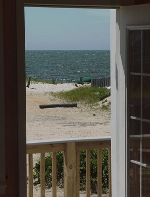 West Dennis Cape Cod vacation rental - View of the beach from a bedroom