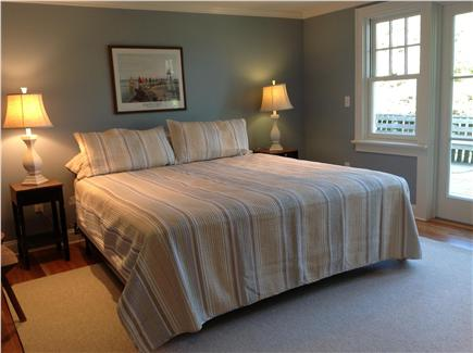 East Orleans Cape Cod vacation rental - Bedroom with bath and large, private deck on main floor