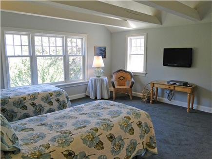 East Orleans Cape Cod vacation rental - Twin bedroom upstairs with private bath