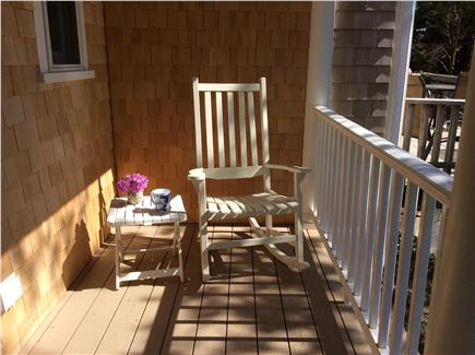 East Orleans Cape Cod vacation rental - Enjoy morning coffee on the farmer's porch