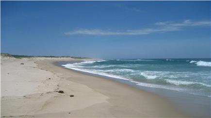 East Orleans Cape Cod vacation rental - 4/10 m. walk on dirt road to private section of Nauset Beach