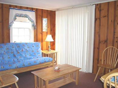 South Yarmouth Cape Cod vacation rental - Living Room with futon