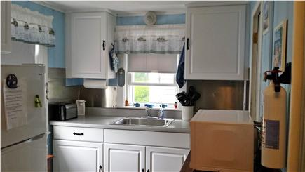 South Yarmouth Cape Cod vacation rental - Kitchen with dining area
