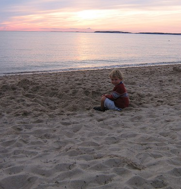 North Eastham Cape Cod vacation rental - Sunset at South Sunken Meadow Beach - a 1/2 mile walk