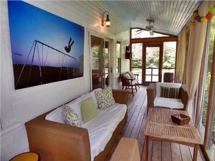 Provincetown, West End Cape Cod vacation rental - Screened Porch