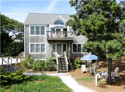 Provincetown Cape Cod vacation rental - Modern Contemporary Reverse design w/upstairs deck facing water