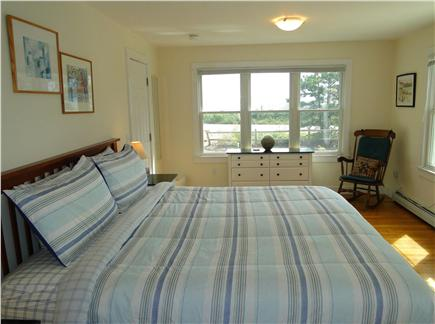 Provincetown Cape Cod vacation rental - Master bedroom 2 with king bed and en suite bathroom