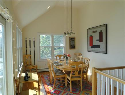 Provincetown Cape Cod vacation rental - Dining table seats eight