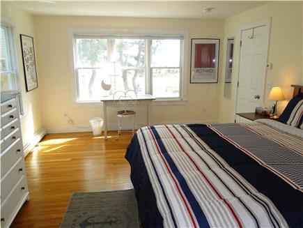 Provincetown Cape Cod vacation rental - Master bedroom1 with king-size bed, en-suite & walk-in closet