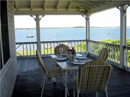 Bourne, Monument  Beach Cape Cod vacation rental - Lunch anyone????