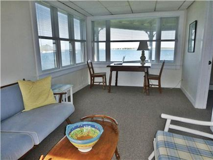 Bourne, Monument  Beach Cape Cod vacation rental - Office with a view