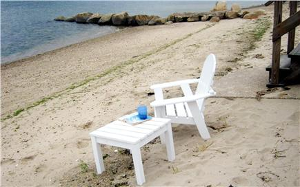 Bourne, Monument  Beach Cape Cod vacation rental - Stroll across the lawn, down a few steps to your sandy beach
