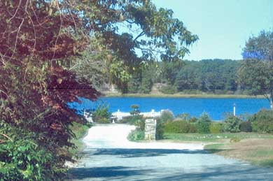 W. Dennis Cape Cod vacation rental - Grand Cove view from Allain Way
