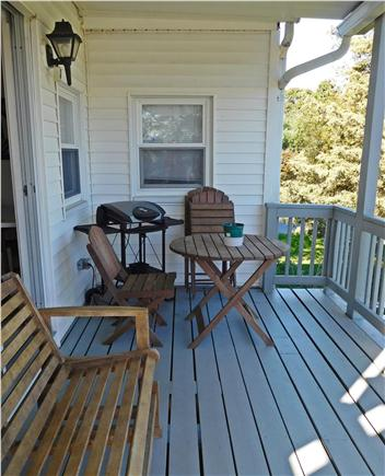 W. Dennis Cape Cod vacation rental - Deck and BBQ grill