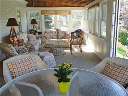 Falmouth Cape Cod vacation rental - Spend most of the week on the screened in porch, w/ water views