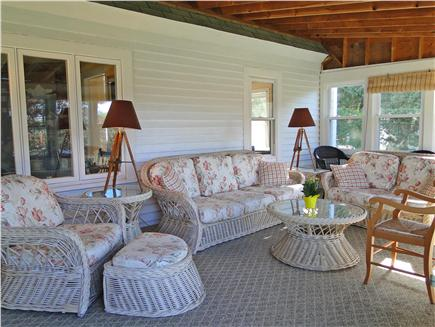 Falmouth Cape Cod vacation rental - Dine on the porch