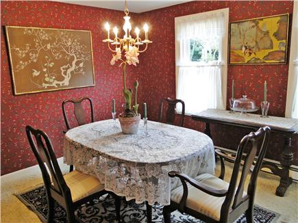 Falmouth Cape Cod vacation rental - Separate dining room for special meals