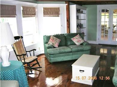 West Dennis Cape Cod vacation rental - Bright & Breezy, multi windowed library with hundreds of books
