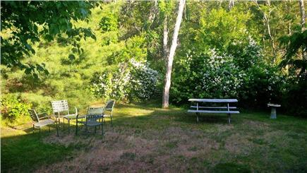 Wellfleet Cape Cod vacation rental - View from the back of the cottage