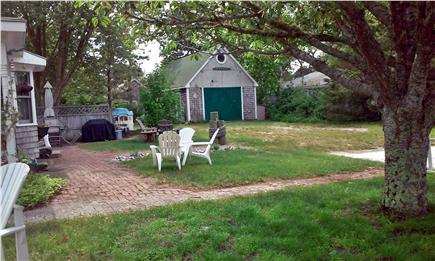 Dennisport Cape Cod vacation rental - Very rare to find, in this area, large yard to play in!