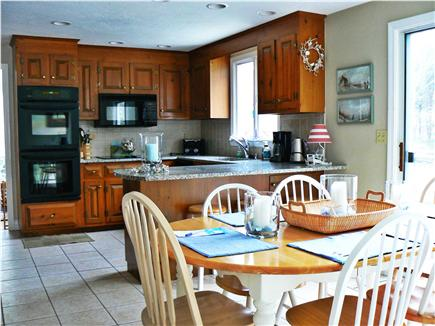 Dennisport Cape Cod vacation rental - All the amenities of cooking at home with fully equipped kitchen