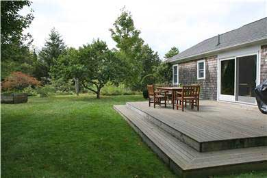 Brewster Cape Cod vacation rental - A spacious yard for families to enjoy