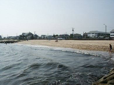 Dennisport Cape Cod vacation rental - Glendon Beach right across the street!