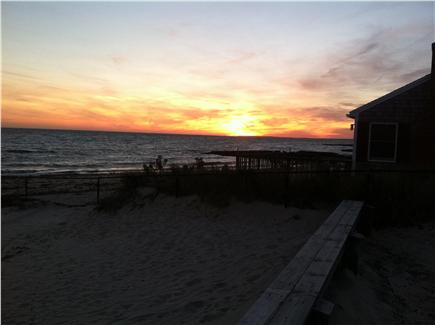 Dennisport Cape Cod vacation rental - Sunset at Glendon Beach