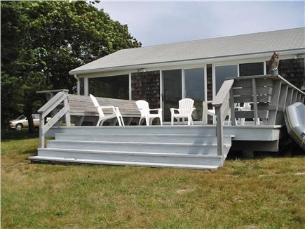 Bourne Cape Cod vacation rental - Waterside Deck