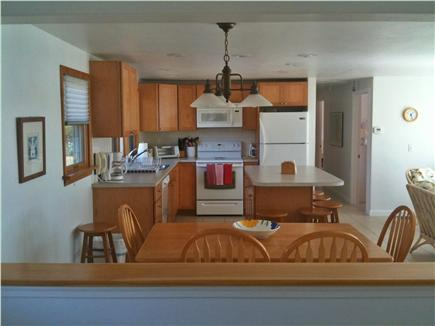 Bourne Cape Cod vacation rental - Dining Room and Kitchen