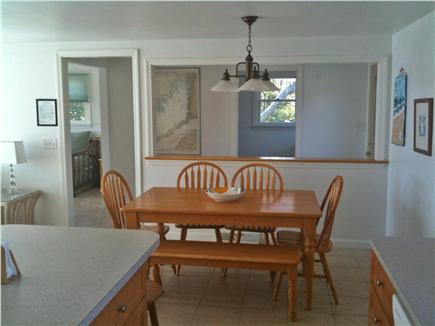 Bourne Cape Cod vacation rental - Kitchen and Dining Room