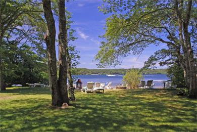 Harwich Cape Cod vacation rental - Yard and view to the water