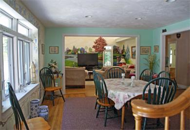 Harwich Cape Cod vacation rental - Dining room facing living room