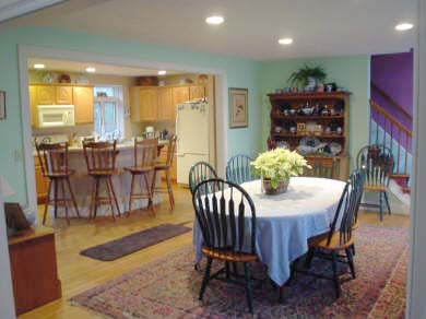 Harwich Cape Cod vacation rental - Dining Room looking into kitchen