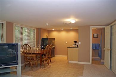 Harwich Cape Cod vacation rental - Bedroom Suite/ complete with kitchnette, bath, t.v.